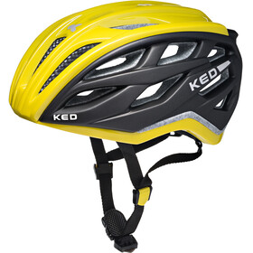 KED Xant Bike Helmet yellow/black